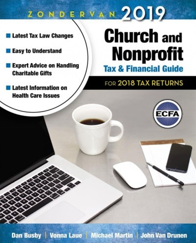 Zondervan Church and Nonprofit Tax & Financial Guide 2018