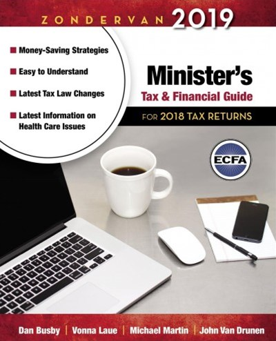 Zondervan Minister's Tax & Financial Guide 2018