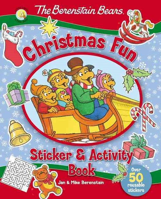 The Berenstain Bears Christmas Fun Sticker and Activity Book