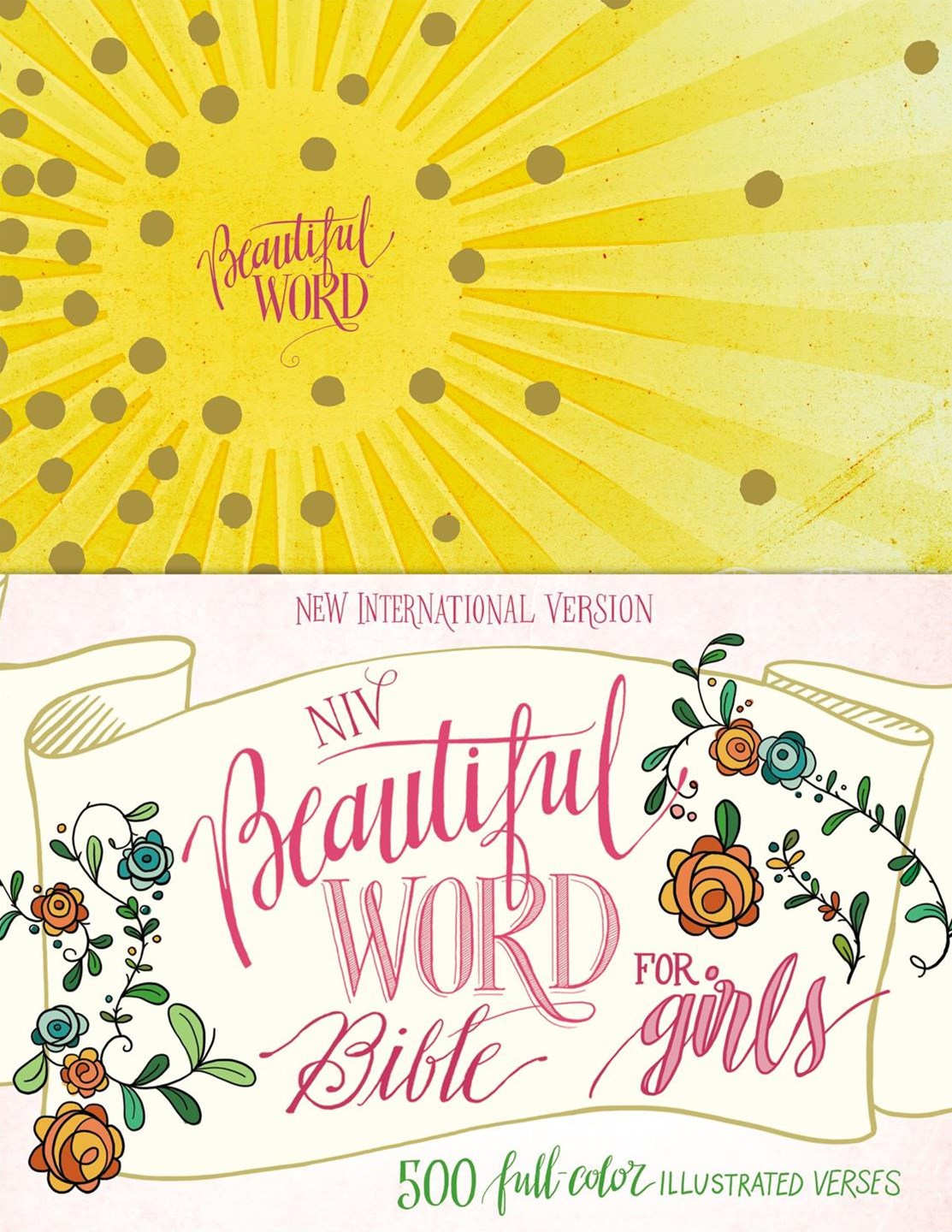 NIV Beautiful Word Bible For Girls [Yellow]
