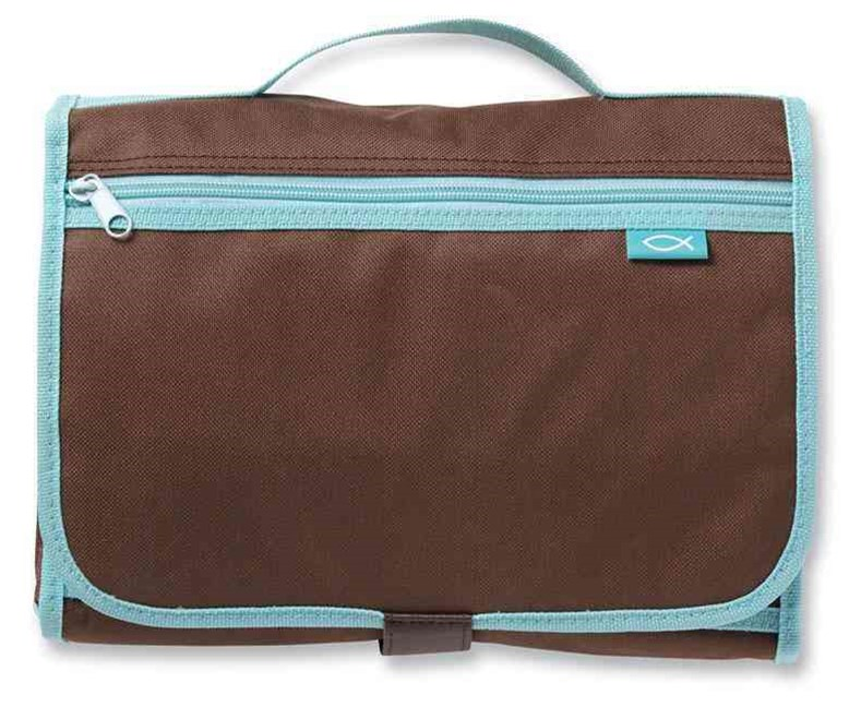 Trifold Organizer Brown Large
