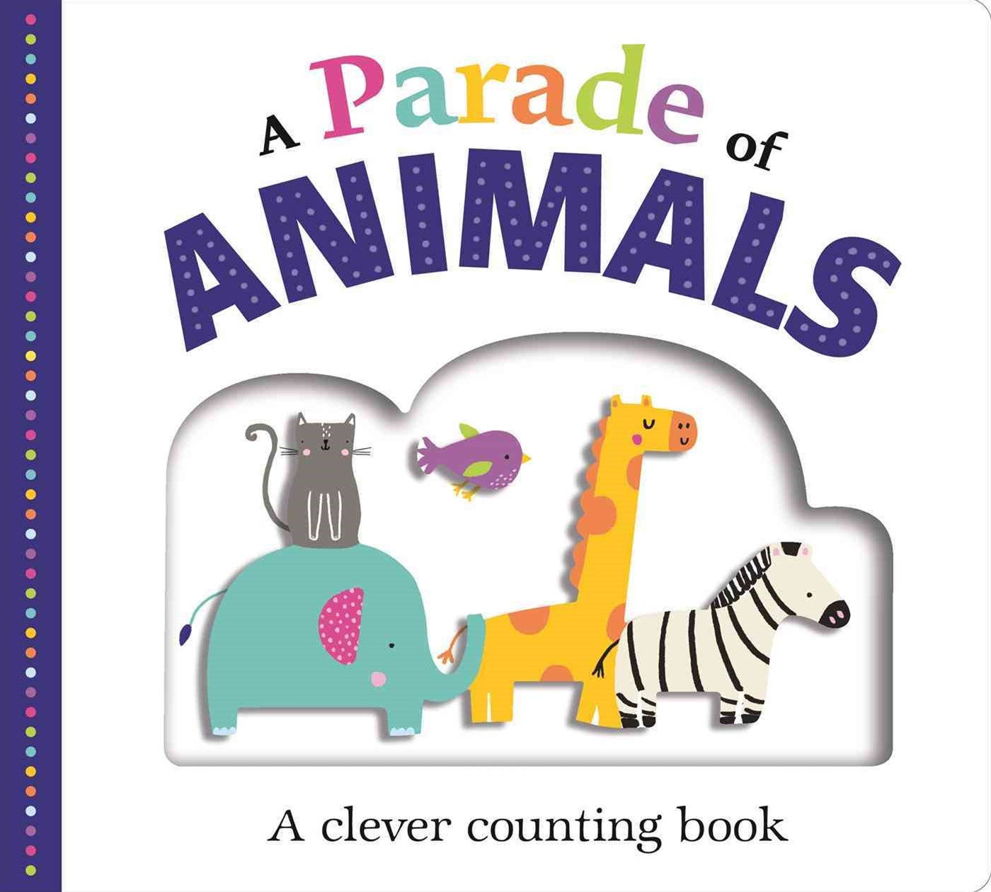 Picture Fit Board Books: a Parade of Animals (Large)