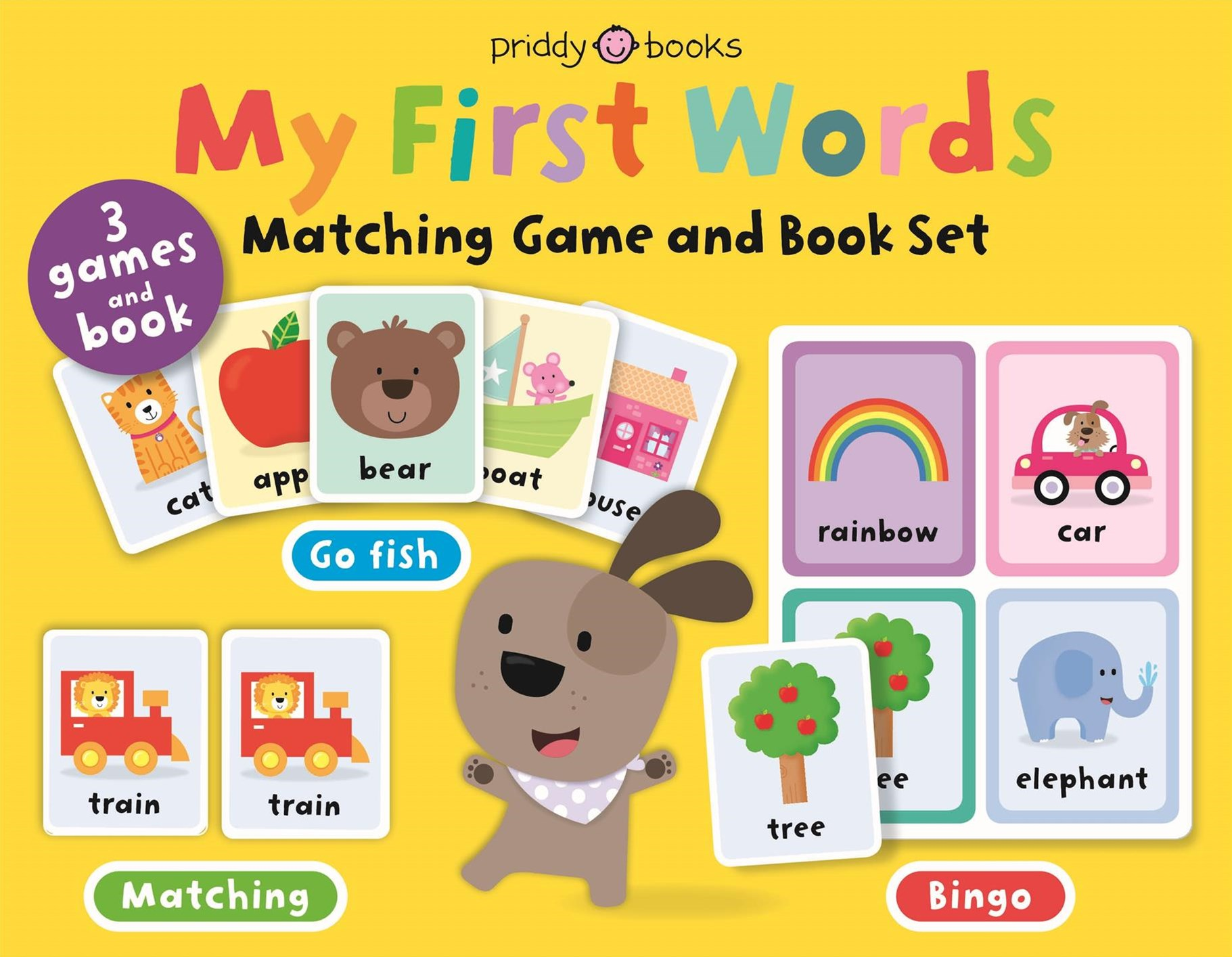 First Words Matching Set