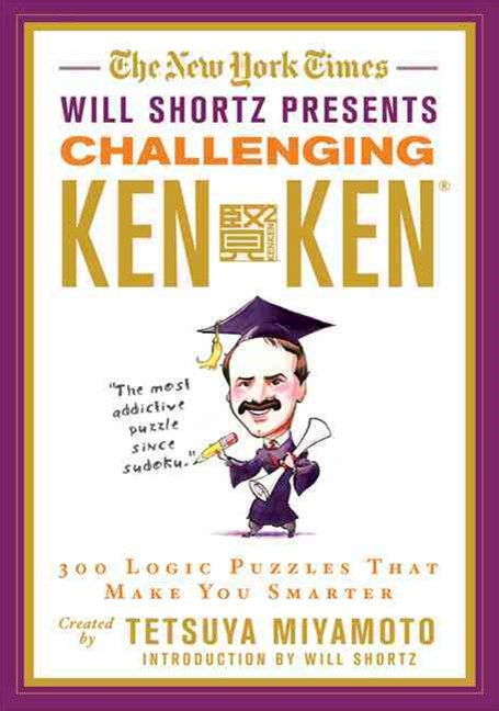 The New York Times Will Shortz Presents Challenging KenKen