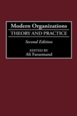 (ebook) Modern Organizations: Theory and Practice, 2nd Edition