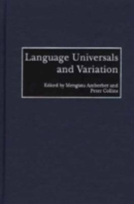 (ebook) Language Universals and Variation