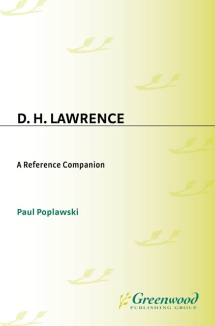 (ebook) D. H. Lawrence: A Reference Companion