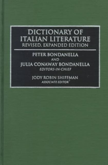 Dictionary of Italian Literature