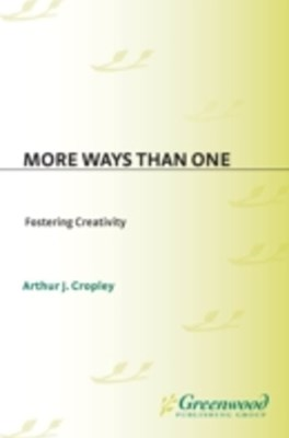 (ebook) More Ways Than One: Fostering Creativity in the Classroom
