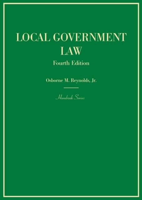 (ebook) Local Government Law