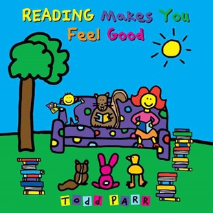 Reading Makes You Feel Good by Todd Parr (9780316043489) - PaperBack - Children's Fiction Intermediate (5-7)