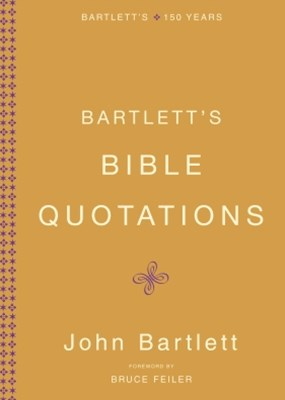 Bartlett's Bible Quotations