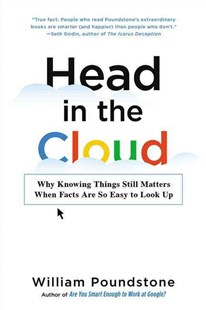 Head in the Cloud by William Poundstone (9780316256520) - PaperBack - Business & Finance Careers
