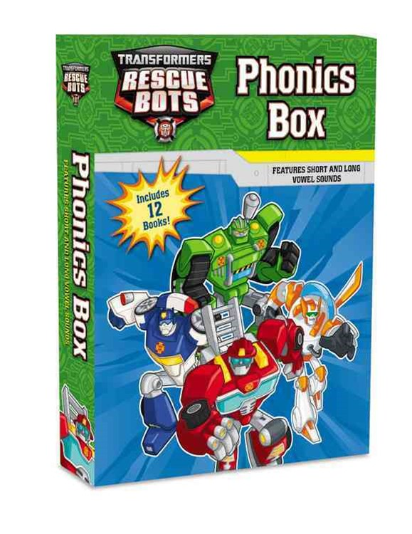 Transformers Rescue Bots: Phonics Box