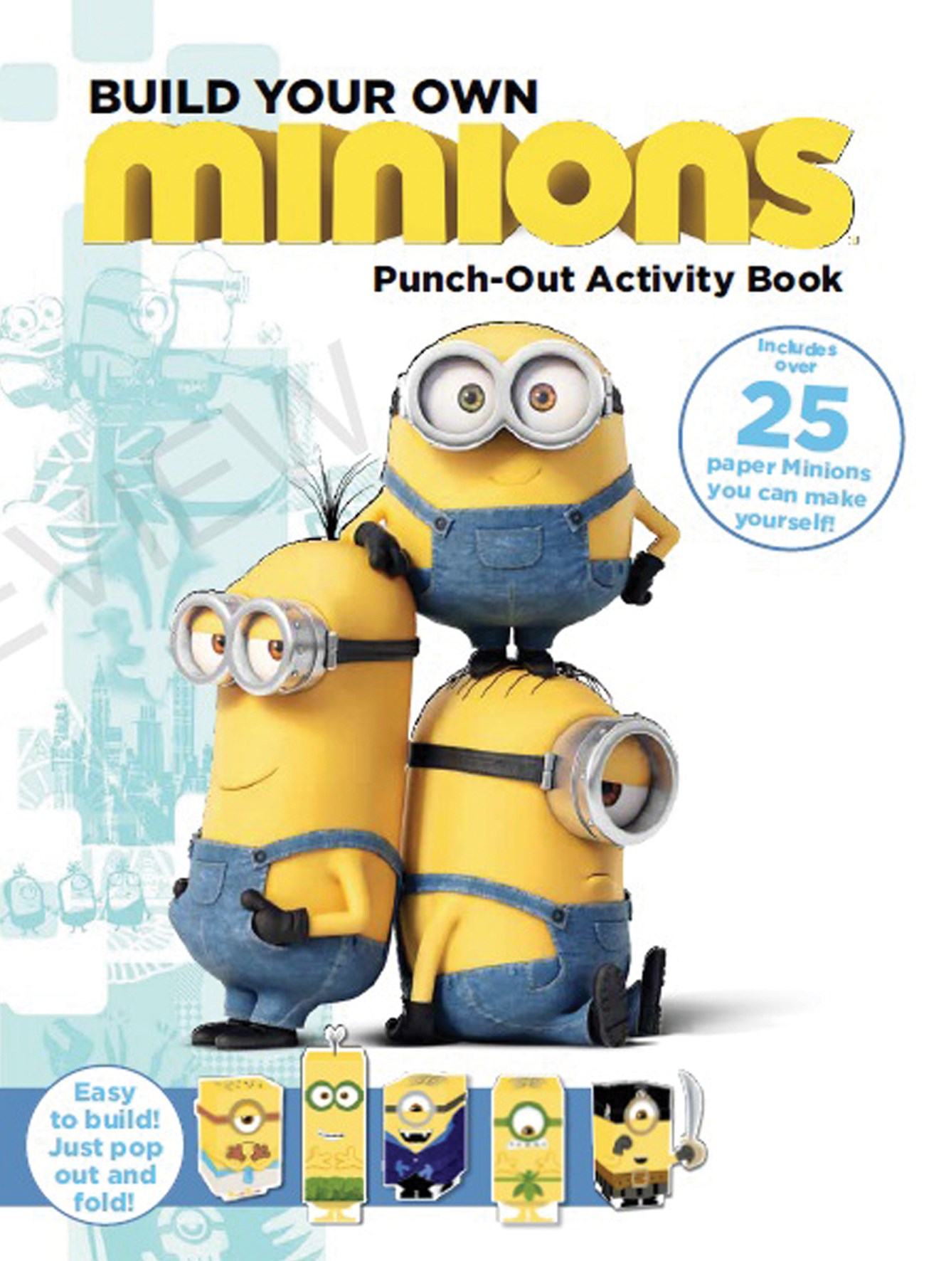 Minions: Build Your Own Minions Punch Out Activity Book
