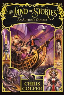 An Author's Odyssey by Chris Colfer, Brandon Dorman (9780316383295) - HardCover - Children's Fiction Older Readers (8-10)