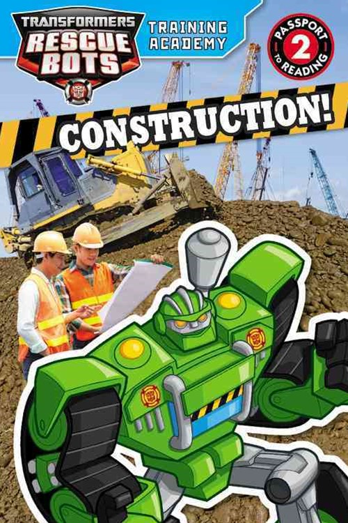 Transformers Rescue Bots: Training Academy: Construction!