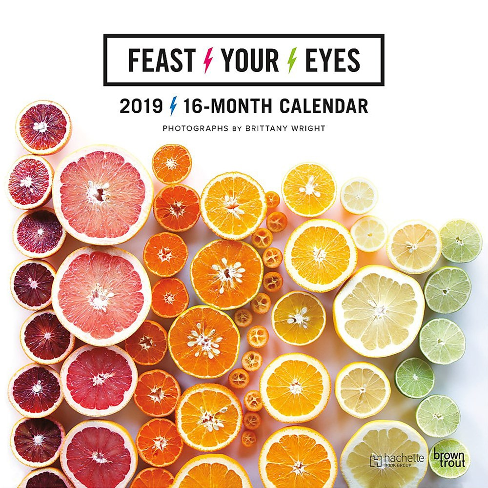 Feast Your Eyes 2019 Calendar