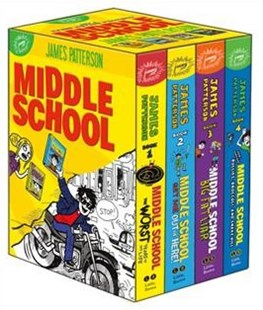 Middle School Set by Patterson, James/ Tebbetts, Chris/ Park, Laura/ Papademetriou, Lisa (ILT)/ Swaab, Neil (ILT), Chris Tebbetts, Laura Park (9780316476515) - HardCover - Children's Fiction Older Readers (8-10)
