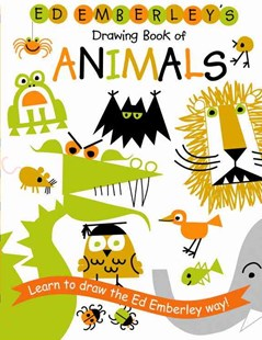 Ed Emberley's Drawing Book of Animals by Ed Emberley, Edward R. Emberley (9780316789790) - PaperBack - Non-Fiction Animals