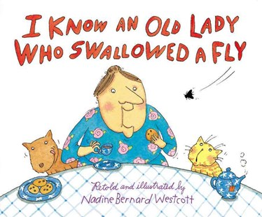 I Know an Old Lady Who Swallowed a Fly by Mary Ann Hoberman, Nadine Bernard Westcott (9780316930840) - HardCover - Children's Fiction Classics
