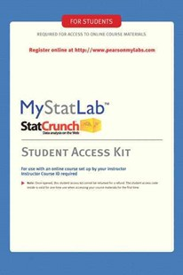 Mystatlab by Inc. Pearson Education (9780321694645) - HardCover - Science & Technology Mathematics