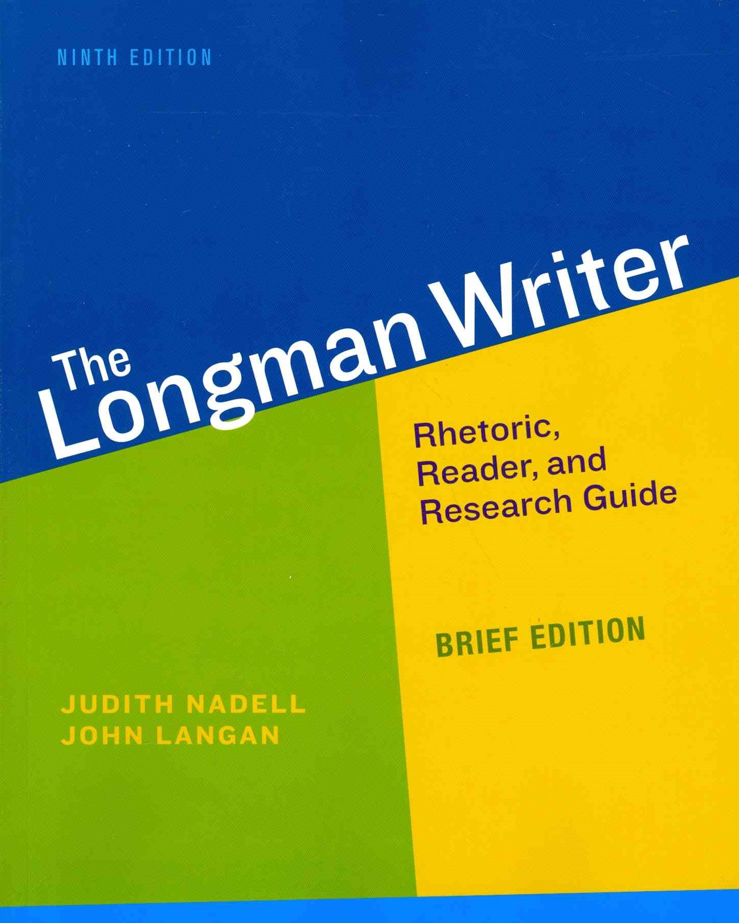 Longman Writer, the, Brief Edition