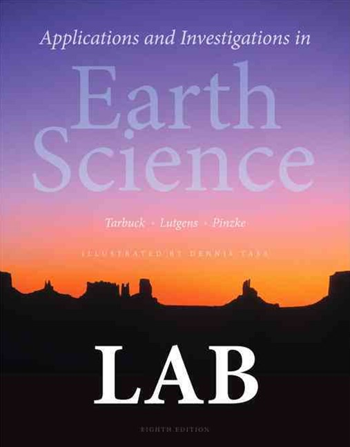 Applications and Investigations in Earth Science Plus MasteringGeology with EText -- Access Card Pa