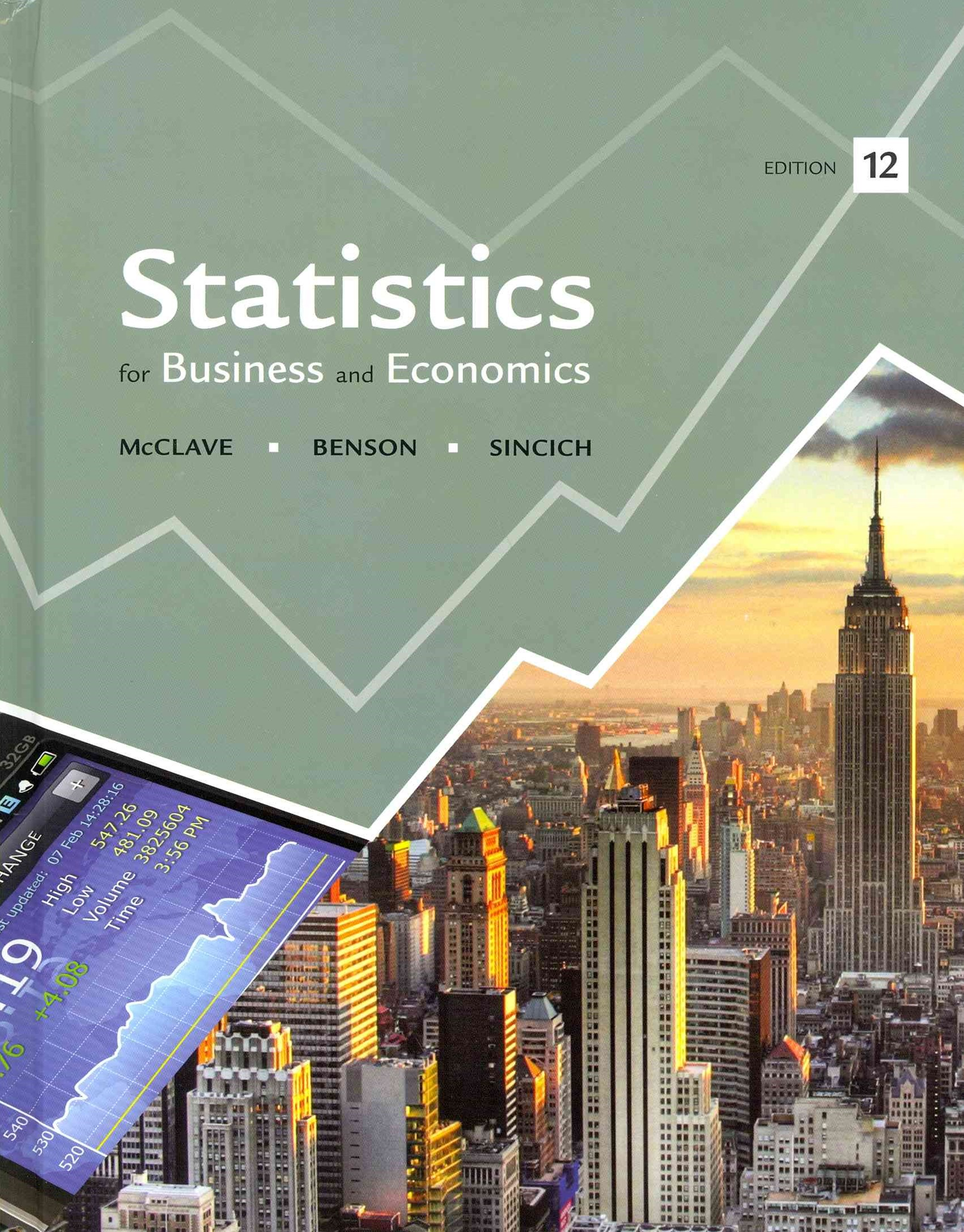 Statistics and Student's Solutions Manual