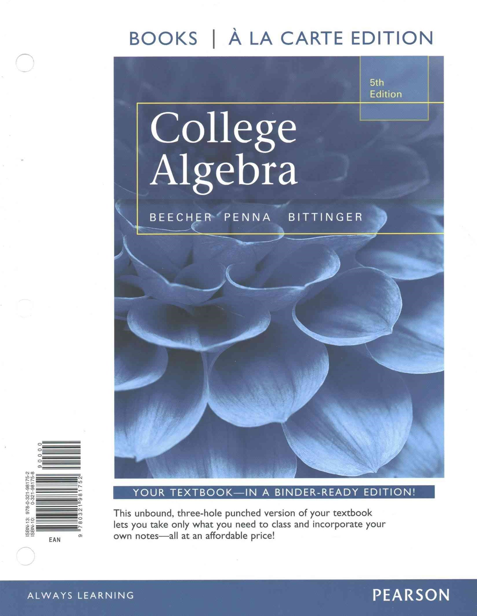 College Algebra with Integrated Review, Books a la Carte Edition Plus MML Student Access Card and S