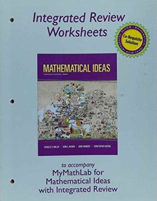 Worksheets for Mathematical Ideas with Integrated Review