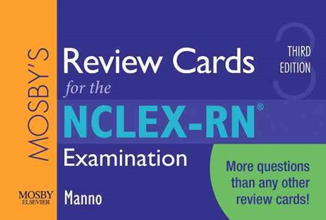 Mosby's Review Cards for the NCLEX-RN Examination by Martin S. Manno (9780323057424) - PaperBack - Reference Medicine