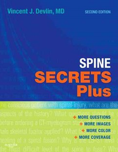 Spine Secrets Plus by Vincent J. Devlin (9780323069526) - PaperBack - Reference Medicine