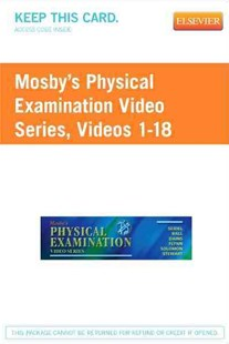 Mosby's Physical Examination Videos Access Code by Henry M. Seidel, Jane W. Ball, Joyce E. Dains (9780323077606) - PaperBack - Reference Medicine