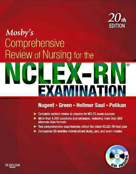 Mosby's Comprehensive Review of Nursing for the NCLEX-RN-« Examination
