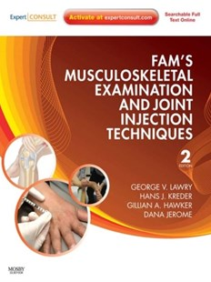 (ebook) Fam's Musculoskeletal Examination and Joint Injection Techniques E-Book - Reference Medicine