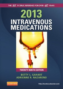 (ebook) 2013 Intravenous Medications - E-Book - Reference Medicine