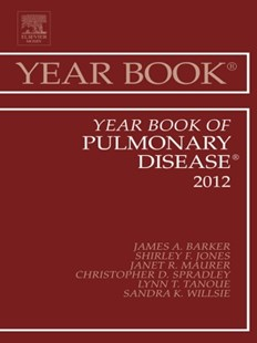 (ebook) Year Book of Pulmonary Diseases 2012 - E-Book - Reference Medicine
