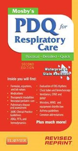 Mosby's PDQ for Respiratory Care by Helen Schaar Corning (9780323100724) - PaperBack - Reference Medicine