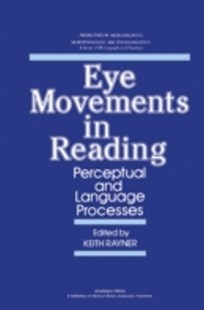 (ebook) Eye Movements in Reading - Language
