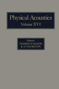 (ebook) Physical Acoustics V16 - Science & Technology Engineering