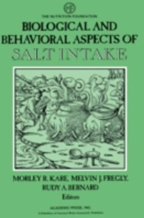 (ebook) Biological and Behavioral Aspects of Salt Intake - Reference Medicine