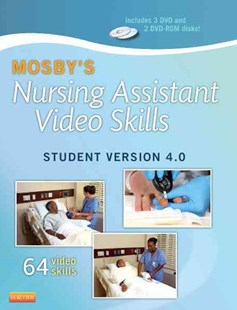 Mosby's Nursing Assistant Video Skills - Student Version DVD 4. 0 by Mosby (9780323222440) - HardCover - Reference Medicine