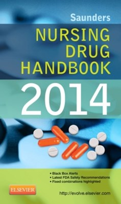 (ebook) Saunders Nursing Drug Handbook 2014