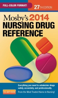 Mosby's 2014 Nursing Drug Reference - E-Book