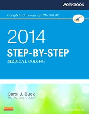 (ebook) Workbook for Step-by-Step Medical Coding, 2014 Edition