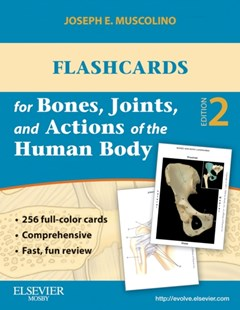 (ebook) Flashcards for Bones, Joints, and Actions of the Human Body - E-Book - Reference Medicine