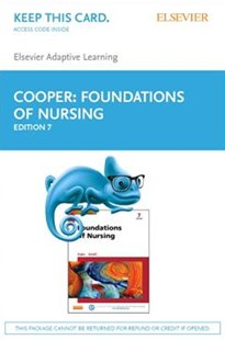 Elsevier Adaptive Learning for Foundations of Nursing (Retail Access Card) 7e - Reference Medicine