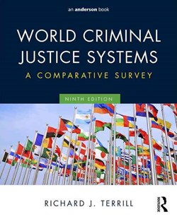 World Criminal Justice Systems by Richard J. Terrill (9780323356466) - PaperBack - Reference Law