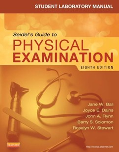 (ebook) Student Laboratory Manual for Seidel's Guide to Physical Examination - Revised Reprint - E-Book - Reference Medicine
